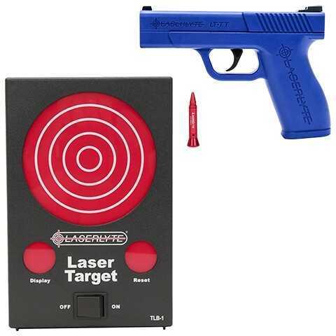 LaserLyte Bullseye Training Kit: Target, Gun Laser Md: TLB-BEK