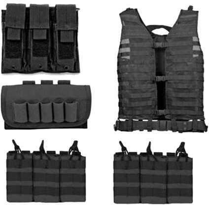 NcStar Zombie Dead Ops Kit Black Md: KZCMS4B-A