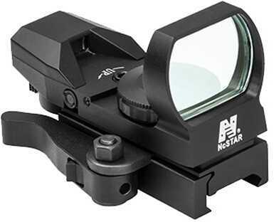 NcStar Blue Reflex Sight/4 Reticles/QR Mount/Black Md: D4BLQ