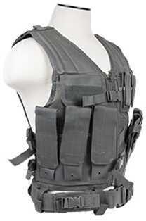 NcStar Tactical Vest Urban Gray, Large Md: CTVL2916U