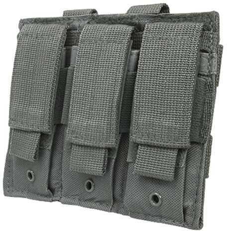 NcStar Triple Pistol Mag Pouch Urban Gray Md: CVP3P2932U