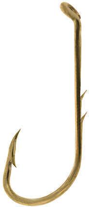 Eagle Claw Fishing Tackle Lake & Stream Baitholder Hook, Bronze Size 2 (Per 9) Md: 12010-002