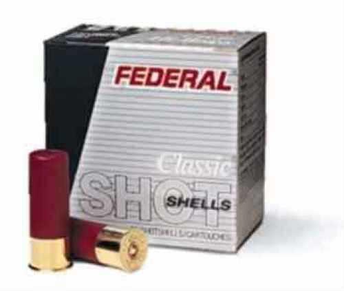"Federal Cartridge 12 Gauge Shotshells Lead Field 2 3/4"" 3 1/4 dram, 1 1/4oz 4 Shot (Per 25) H1254"