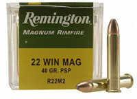 Rimfire 22 Winchester Magnum Rimfire