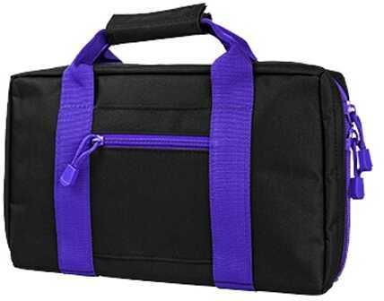 NcStar Discreet Pistol Case Black w/Purple Trim Md: CPBPR2903