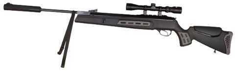 Hatsan USA Hatsan Air Rifles 125 Sniper Vortex Piston .25, Black Md: HC125SN025VORT