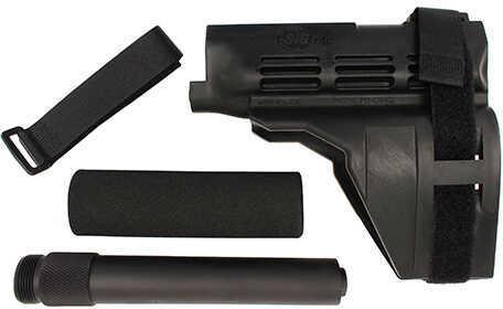 SigTac SB15 Pistol Stabilizing Brace Black w/Buffer Tube Md: PSB-KIT-BLK