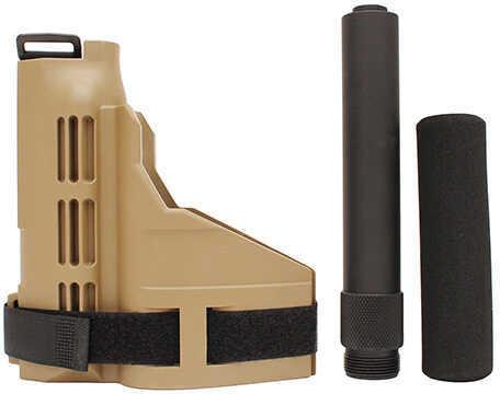 SigTac SB15 Pistol Stabilizing Brace Flat Dark Earth w/Buffer Tube Md: PSB-KIT-FDE