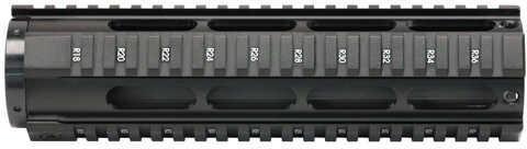 NcStar AR15 Free Float Mid Length Quad Rail HG Md: MARFF4RM