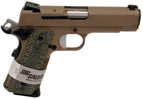 "Sig Sauer 1911 Carry Scorpion 45 ACP 4.2"" Barrel 8 Round Semi Automatic Pistol 1911TCA-45-SCPN"