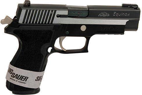 Sig Sauer P227 45ACP Equinox 2-Tone Sig Night Sights 10 Round One Piece Polymer Grip Semi Automatic Pistol 227R-45-EQ