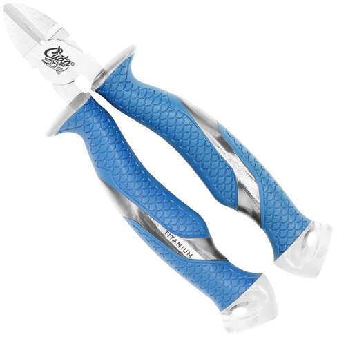 "Cuda Brand Fishing Products Cuda Brand 6.75"" Titanium Bonded Diagonal Wire Cutters Md: 18827"