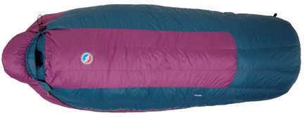 Big Agnes Womens Sleeping Bag Ethel 0° 650 DownTek Petite, Right Hand Zipper Md: BWEPR15
