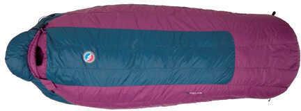 Big Agnes Womens Sleeping Bag Roxy Ann 15° 650 DownTek Reuglar, Right Hand Zipper Md: BWRARR15
