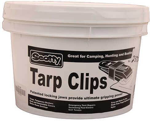 Scotty Tarp Clips, Black, Display Bucket Of 60 Md: 0301-BK
