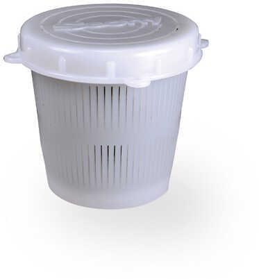 Scotty Vented Crab Diner Bait Jar With Lid, 1/2 Liter Md: 0670