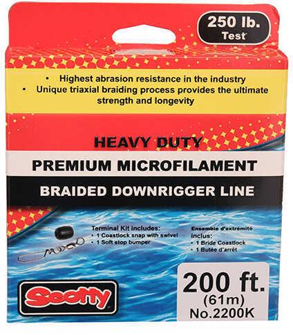 Scotty PBF Downrigger Line 250 lb Test, 200 Feet Spl Kit Md: 2200K