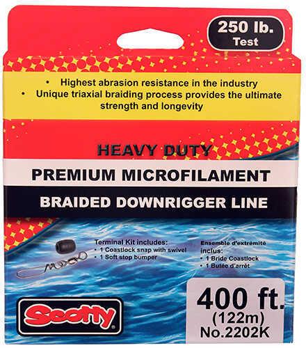 Scotty PBF Downrigger Line 250 lb Test, 400 Feet Spool Kit Md: 2202K