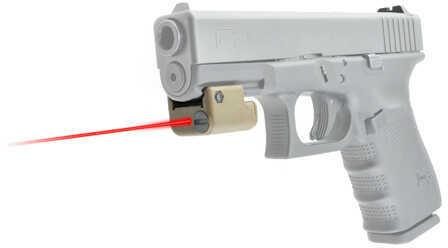 LaserLyte SCV4 Laser- Tan, Rail Mount Md: FSL-4T