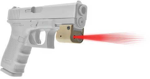 LaserLyte Center Mass Red Laser Tan, Rail Mount Md: CM-MK4T