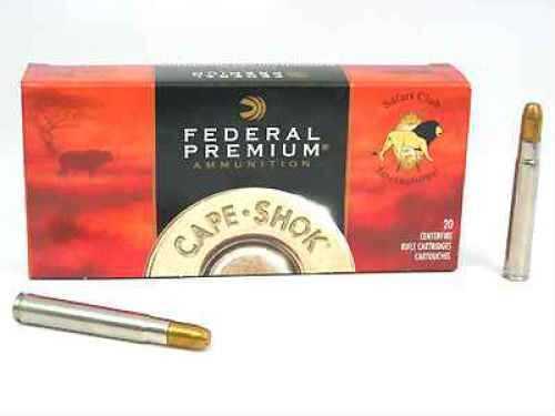 Federal Cartridge 416 Remington Magnum 416 Rem Mag, 400gr, Trophy Bonded Sledgehammer, (Per 20) P416RT2