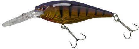 Berkley Flicker Shad Pro Slick, 6cm Slick Purple Bengal Md: 1316798