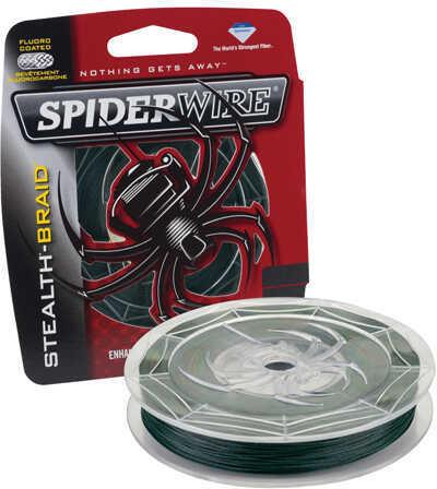 Spiderwire Stealth Braid, Moss Green 6 lb, 500 Yards Md: 1339753