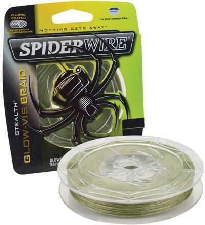 Spiderwire Stealth Braid, Glow-Vis 80 lb, 250 Yards Md: 1339781