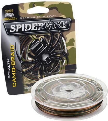 Spiderwire Stealth Braid, Camo 30 lb, 300 Yards Md: 1339796