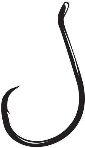 Gamakatsu / Spro Octopus Circle Hook, NS Black Size 8 Md: 208406
