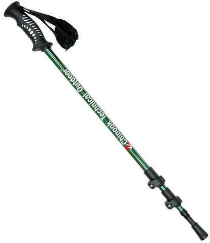 Chinook Adjustable Hiking/Skiing Pole Backcountry 3 (Single) Md: 51028