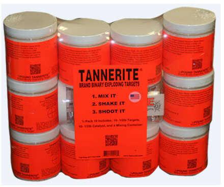 Tannerite 1/2 Pack 10 (10pk of 1/2lb Targets) Md: 1/2 PK 10