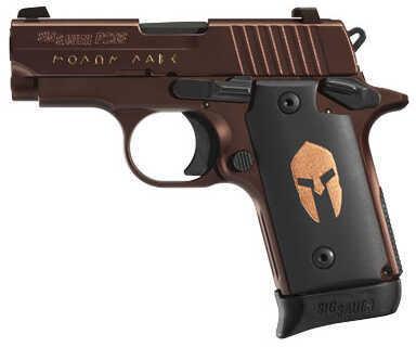Sig Sauer P238 380 ACP Spartan 6 Round Semi Automatic Pistol   238-380-Spartan