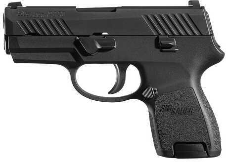 Pistol Sig Sauer P320SC 9mm Luger Contrast Sights 12rd 320SC-9-B