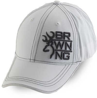 Browning Men's Stack-Lite Cap, White