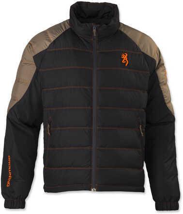 Browning Hell's Canyon Blended Jacket, Black/Tan Medium Md: 3047399002