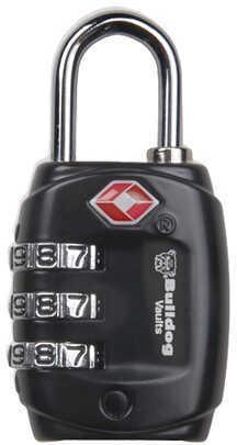 Bulldog Cases Bulldog TSA Lock With Steel Shank BD8020