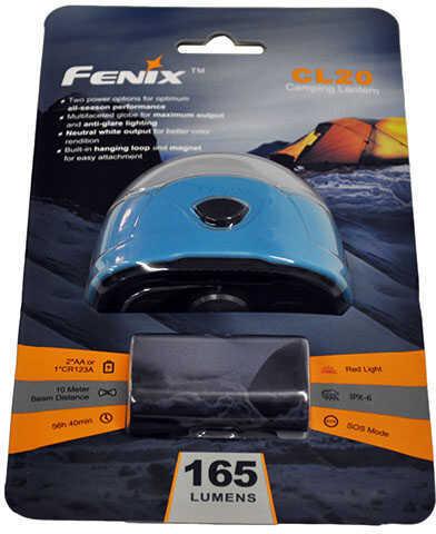 Fenix Lights 165 Lumen Fenix Lantern(CR123/AA Sky Blue Md: CL20-BLU