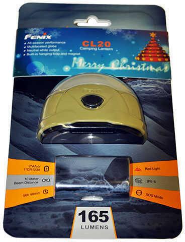 Fenix Lights 165 Lumen Fenix Lantern(CR123/AA Olive Md: CL20-OLV