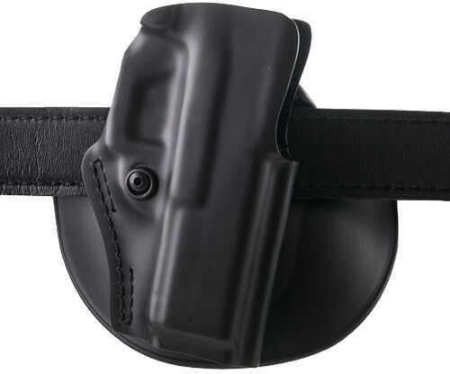 Safariland Open Top Paddle/Belt Slide Holster Glock 17, 22, Plain Black Md: 5198-83-411
