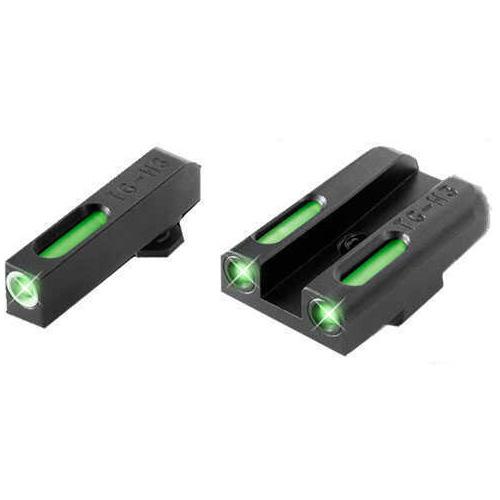 Truglo TFX Kimber 3 Dot Fiber/Tritium Green Night Sight TG13KM1A