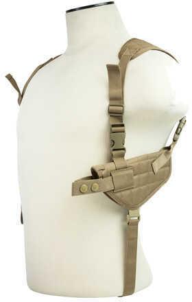 NcStar Ambidextrous Horizontal Shoulder Holster Tan Md: CV2909T