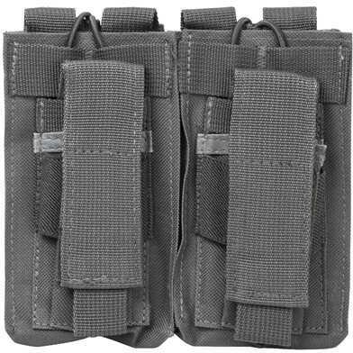 NcStar AR Double Mag Pouch Urban Gray Md: CVAR2MP2927U