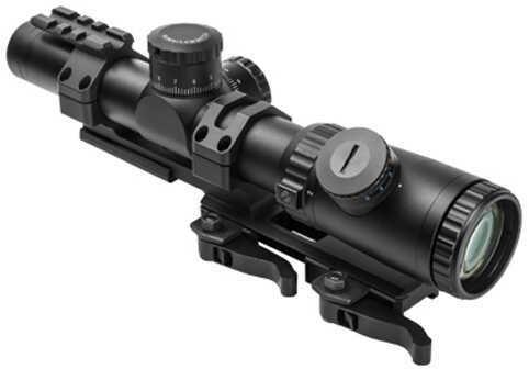 NcStar Vism Evolution Series Scope 1.1-4X24 Scope/P4 Sniper Md: VEVOFP11424G/SPR