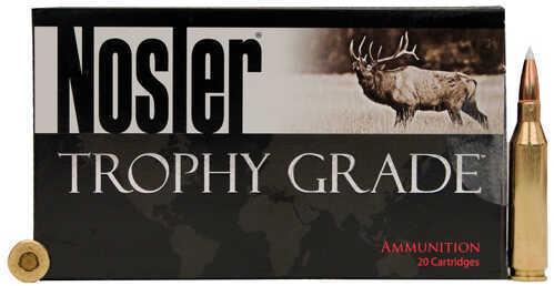 Nosler Trophy Grade Ammunition 338 Winchester Magnum, 225 Grains, E-Tip, Per 20 Md: 60088