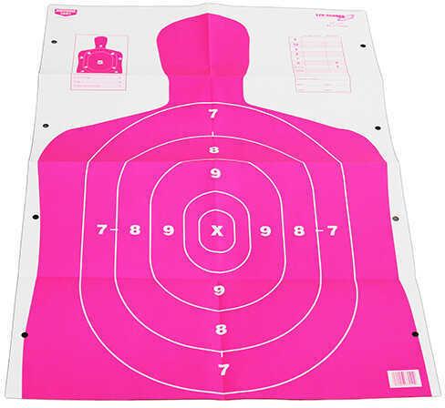 "Birchwood Casey Eze-Scorer 23"" x 35"" Bc27 Pink 5 Paper Targets Md: 37039"