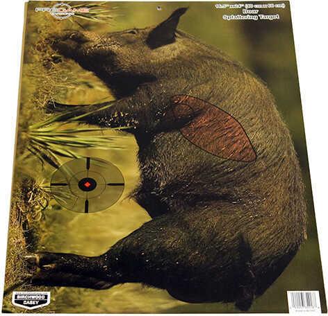 """Birchwood Casey Pregame Targets Boar, 16.5"""" x 24"""" (Per 3) Md: 35408"""