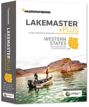 Humminbird Electronic Chart Western States Md: 600011-2