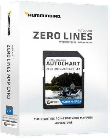 Humminbird Electronic Chart AutoChart Xero Line Md: 600033-1