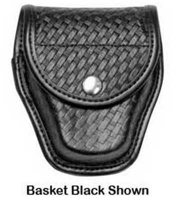Bianchi 7917 AccuMold Elite Double Cuff Case Hidden Snap, Basket Black 22178